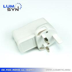 공장 가격 OEM 및 ODM 범용 5V2a 10W USB 배터리 충전기 영국 플러그가 있는 전화 충전기