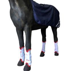 سباق الفروسية خفة الوزن على ساق ماش قابل للإزالة القفز هورسشو الأحذية