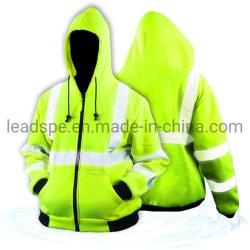 Прочного молнией строительные работы износ светоотражающие ANSI совместимых с высокой четкости по технике безопасности и гигиене труда куртка