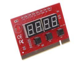 Después de la tarjeta madre PCI Tarjeta de LED de 4 dígitos para PC de prueba de diagnóstico Ana