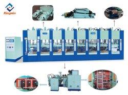 6 stations volledig automatische schuimrubberen EVA-spuitgietmachine
