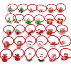 OEM Christmas Tree Sokken Tie Hair Elastic Children's Hairpin