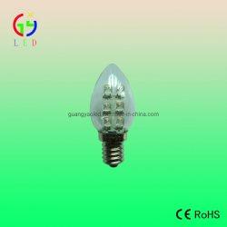 Patentó EL LED C7 bombilla vela E12 Bombillas de luz de noche
