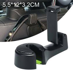Supporto per cellulare per poggiatesta con gancio per schienale sedile per auto universale Staffa