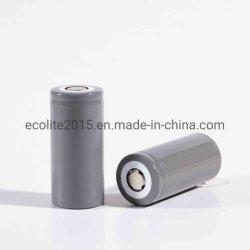 Lto cilíndrico de titanato de litio HC26650 Batería 3000mAh Batería de Ion Litio la celda de descarga de 6c