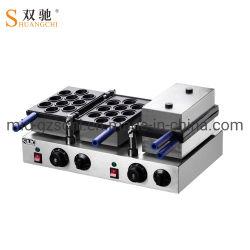 كهربائيّة متموّج آلة جوزة كعكة شكل [ستينلسّ ستيل] تجاريّة يستعمل خبازة
