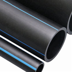 Les fabricants de gros de grade PE80 PE100 TUYAU PEHD en plastique noir