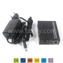 Оптоволоконный Sc один Media Converter 10m/100m/1000m без трансивер SFP Ethernet Fiber Media Converter