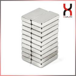 Permanenter Neodym-flach magnetischer Block-kundenspezifischer dünner Vierecks-Form-Bewegungsmagnet