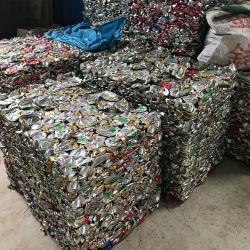 Ubc Déchets d'aluminium de 99 % Aluminium utilisé canettes en aluminium de mise au rebut l'UBC