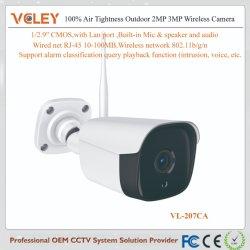 Macchina fotografica esterna senza fili di prezzi infrarossi di Microbolometer della videocamera di sicurezza della casa di zona delle 68 radio
