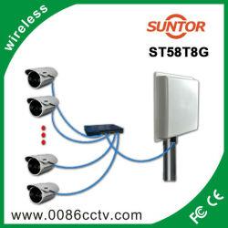 5km 5,8 Ghz antena de transmisión inalámbrica de vídeo al aire libre