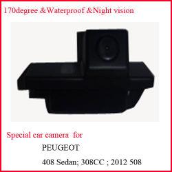 Peugeot 408/508のための特別な車の背面図のカメラ