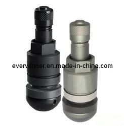 黒およびチタングレー金属バルブ TPMS バルブステム