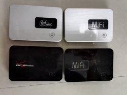 Компания Verizon Wireless - Novatel Mifi 2200 - черный - 3G для мобильных ПК к беспроводной сети передачи данных через модем