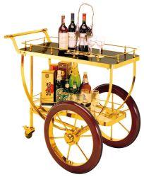 Luxuxalkohol und Service-Laufkatze mit Edelstahl für Gaststätte (FW-41)