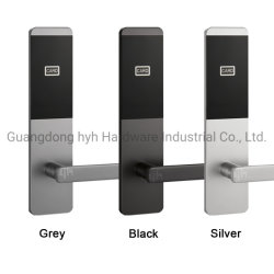 Caja de Seguridad Inteligente sin Llave Digital de Alarma de Código de la Tarjeta de la Manija de Puerta de Aleación de Aluminio