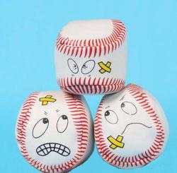 Diseño de la parte superior de goma espuma OEM pelota estrés