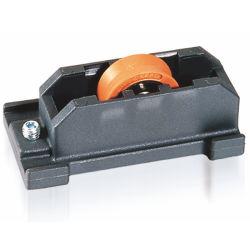 Accesorios de la serie de rodillos de ranura de rodamiento de rueda de polea de rodillo de nailon de ventana de puerta corredera de aluminio
