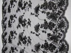 イブニング・ドレスのスパンコールの刺繍の織布(BYH3097)