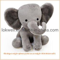 Plush Cinza de pelúcia elefante bebé infantil dons