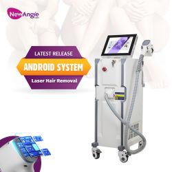 Диодный лазер для удаления волос 808 воды работы кожи головы затягивая омоложения Professional красоты оборудование для Салон красоты