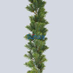 가정 훈장 크리스마스 장신구 (26149)를 위한 크리스마스 소나무 화환 인공적인 플랜트