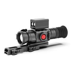 نطاق رؤية أسلحة التصوير الحراري للتشغيل بيد واحدة مع محدد نطاق الليزر