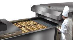 Toast de cuisson Stainelss Auto Commerciale Hot Dog machine à pain de la machine en usine