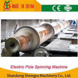 El Hormigón Pre-Stressed poste eléctrico Línea de producción/Línea de producción de poste de concreto