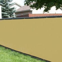 주황색 유연한 폴리에틸렌 플라스틱 안전 철사 정원 담 그물세공