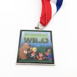 Factory Direct Sale Custom Cartoon Characters Fun Sports Meeting Run Medal
