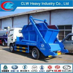 5 立方メートル油圧式ゴム製車両フックリフトアームガベージ トラック