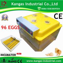 Новейшие CE утвердил дешевые высокого качества лучшая цена цифровой автоматический 96 яиц инкубатор/куриное яйцо инкубатор/инкубационных яиц машины (KP-96)
