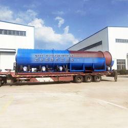 Oro aluvial Lavadora Mobile tambor giratorio Scrubber Trommel Pantalla para la venta en Rusia