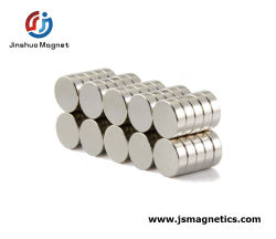 52 de super Sterke Gesinterde Schijf van de Magneet van de Cilinder van de Schijf van de Magneet NdFeB Permanente voor Verkoop