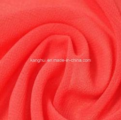 100% poliéster Peach Shin Koshibo tejido de prendas de ropa de mujer