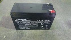 12V 7 Ah sans entretien étanche au plomb acide batterie UPS