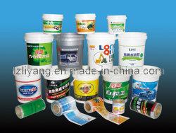 Folha de impressão por transferência de calor para baldes de tinta