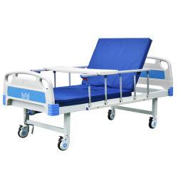 Gran Stock precio barato de medicina manual del paciente una función cama de hospital con hora de entrega cortos para los hospitales móviles