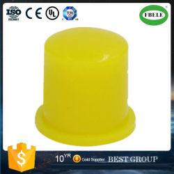 도매 6 * 6 옐로우 캡 환경 터치 버튼 스위치 절연 캡