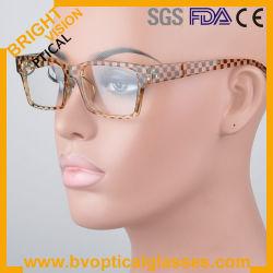 2012 retro strutture di plastica variopinte degli occhiali del nuovo quadrato del progettista (2511)