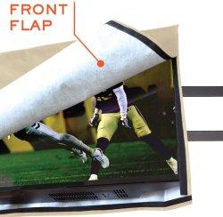 Для использования вне помещений крышку телевизора атмосферостойкие турели с нижней крышки, водонепроницаемый и пыленепроницаемость ТВ защиты экрана с помощью пульта дистанционного управления для внешних LED, ЖК-дисплей