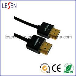 Cabo HDMI ultrafina 1,4 V, tampa de ABS