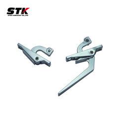 moulage sous pression en aluminium de la partie de la poignée de porte (meubles partie)
