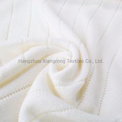 贅沢な極度のソフトマシンの洗濯できるMerinoウールの赤ん坊毛布