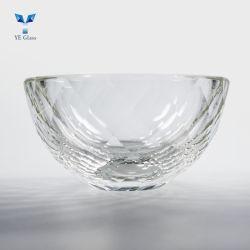 Bol en verre en cristal transparent abat-jour de la forme de lustre lampe de plafond