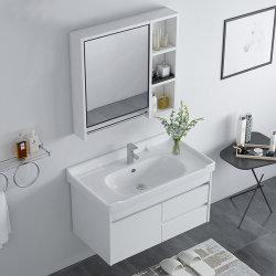 De witte Kleur muur-Gehangen Ijdelheid van de Badkamers van de Kabinetten van het Type Chinese Gebruikte Moderne