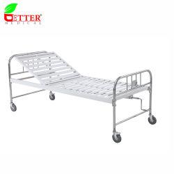 Ziekenhuis draagbaar 1 functie Semi-Fowler-bed met één kruk