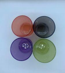 Vente en gros verre coloré coeur forme de bonbons Jars verres bijoux Créatif, Décoration en verre, porte-bougie en verre, coffret bijoux en verre, Christimas Craft